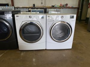 whirlpool washer & dryer 1 yr warranty for Sale in San Antonio, TX