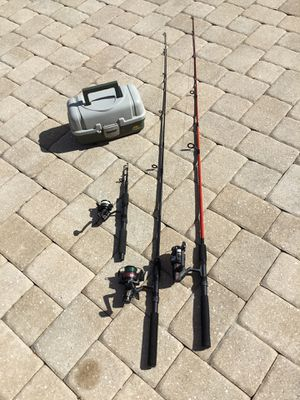 Fishing gear combo C15-2 for Sale in PT CHARLOTTE, FL