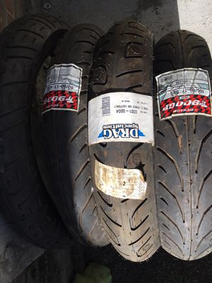 New & used street & dirt motorcycle tires for Sale in San Jose, CA