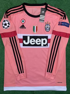 2015/16 Juventus away long sleeve soccer jersey for Sale in Raleigh, NC
