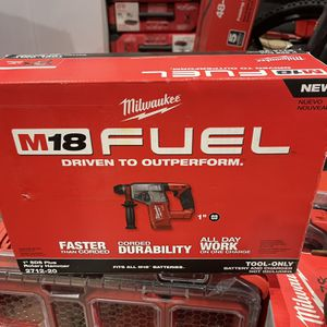 🩸Milwaukee M18 SDS 1 Inch Hammer Drill NEW!!🩸 for Sale in Oak Lawn, IL