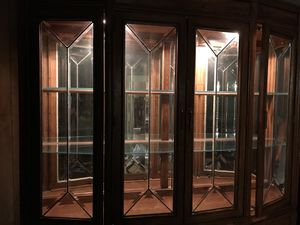 Illuminating China hutch for Sale in Irving, TX