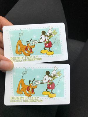 Two Disney Tickets!! for Sale in Orlando, FL