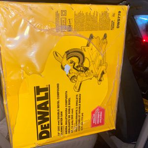 Dewalt Double Bevel Sliding Miter Saw for Sale in Tacoma, WA