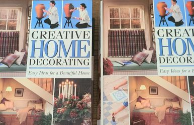 Creative Home Decorating 2 Hardcover Series for Sale in Lake Stevens,  WA