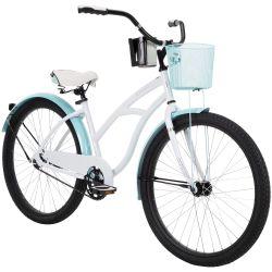 NEW BIKE!!! Women's Beach Cruiser Bicycle , White for Sale in Hillsborough,  CA