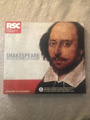 Shakespeare The Life, The Works, The Treasures By The Royal Shakespeare Company for Sale in Coral Gables, FL
