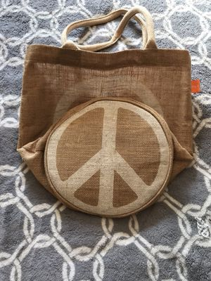 Reusable Peace Sign bag for Sale in Edgewood, WA