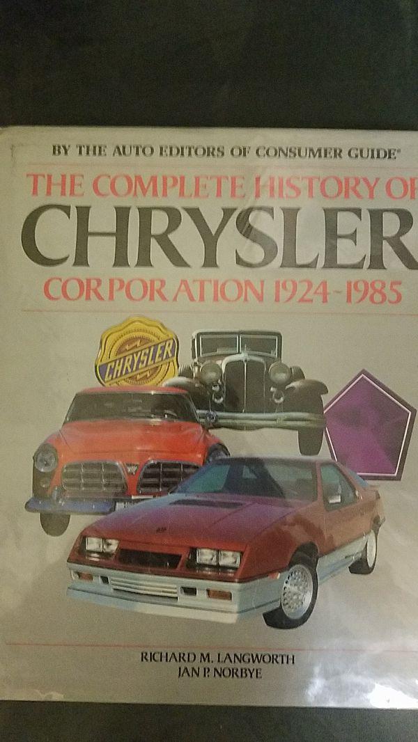 Old crystler car book