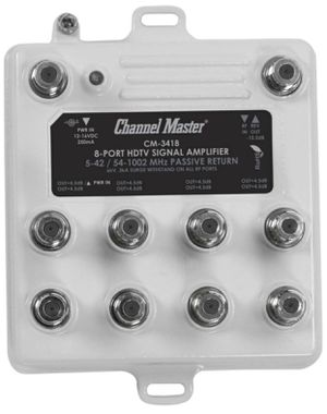 Channel Master 8-Port HDTV Signal Amplifier for Sale in Colleyville, TX