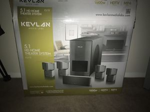Kevlan Media Labs 5.1 HD Home theater system for Sale in Alexandria, VA