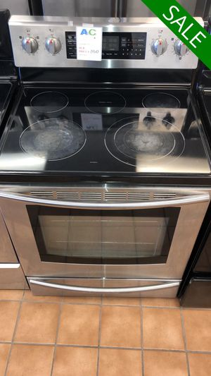 FREE DELIVERY!! Samsung CONTACT TODAY! Electric Stove Oven Works Perfect #1495 for Sale in Fort Washington, MD