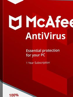McAfee Anti-Virus Software 1 Year Subscription (Noramlly 20 Dollars) for Sale in Scottsdale,  AZ