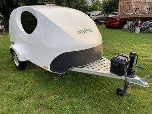 Little my pod teardrop rv trailer camper for Sale in Portland, OR