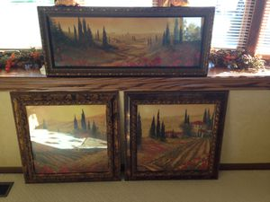 Tuscan pictures for Sale in Mokena, IL