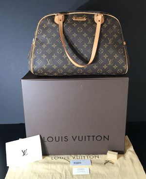 *AUTHENTIC LOUIS VUITTON MONTORGUEIL GM -INCLUDES: Original Lock & Keys, Box, Dust Cover, Gift Bag *SERIOUS BUYERS ONLY* for Sale in La Mesa, CA
