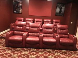Theater Seats (recline) for Sale in Glen Cove, NY