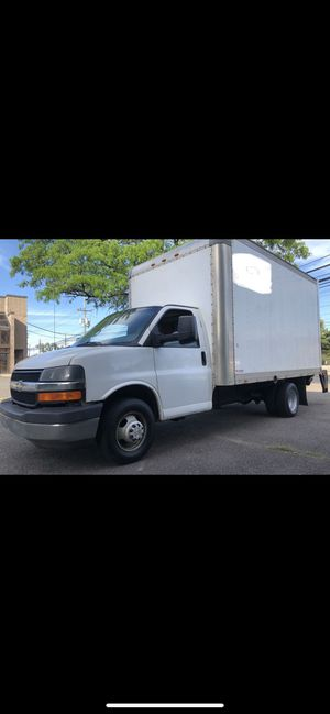 2014 Chevy express 3500 Dually box truck 16 foot for Sale in Rochelle Park, NJ
