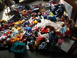 Toys.transformers.batman.misc.toys.hot wheels and tracts for Sale for sale  Fontana, CA