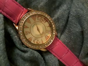 SS Quartz Watch With Pink Band for Sale in Largo, FL