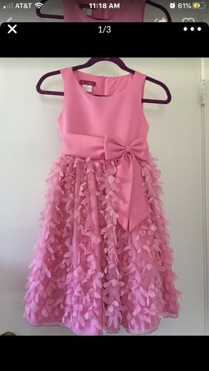 pink flower girl dress for Sale in Arlington Heights, IL