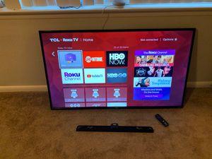 "TCL 55"" 4K Smart TV for Sale in Virginia Beach, VA"