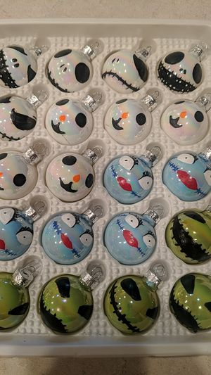 Nightmare Before Christmas Ornaments for Sale in Tolleson, AZ