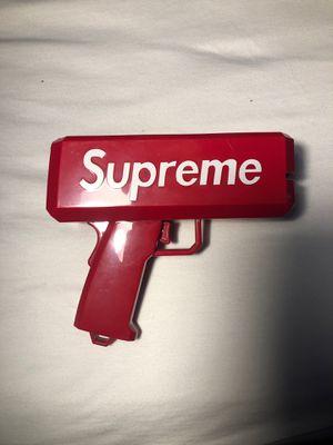 Supreme Money Gun Hypebeast Toy for Sale in Bristol, RI