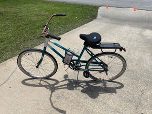 Use cruiser bike needs new inner tubes on tires and to be cleaned up for Sale in Deltona, FL