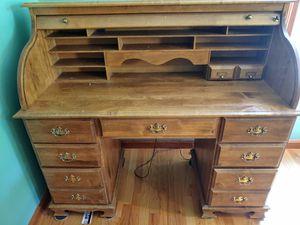 Roll top desk for Sale in North Andover, MA