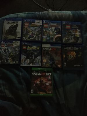 Selling 8 ps4 games and one Xbox game for the Price of $200 for Sale in Fort McDowell, AZ