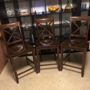 Set of 3 Pub Chairs for Sale in Canby, OR
