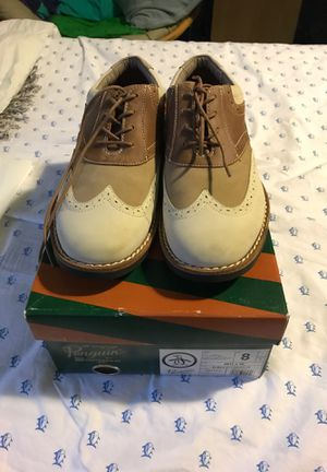 Penguin dress shoes size 8-8.5 worn once paid 130 for Sale in Rockville, MD