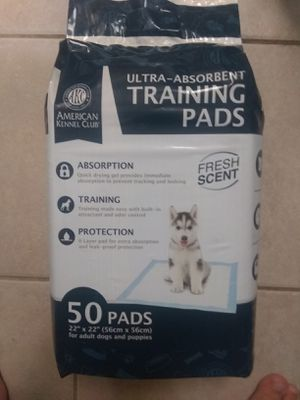 50 Dog Puppy Pads for Sale in Alexandria, VA