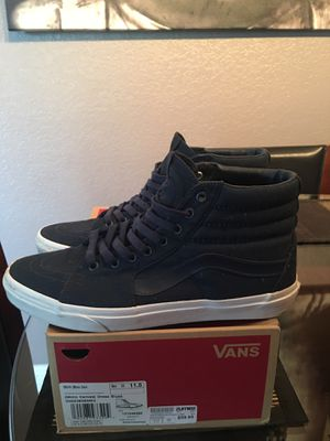 Vans SK8-Hi (Mono Canvas) Dress Blues for Sale in Chino, CA