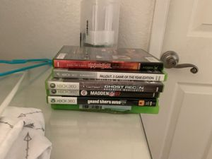 xbox 360 games for Sale in Valley Center, CA