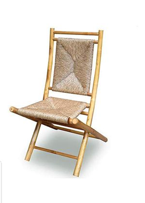 Set of two bamboo folding chairs (new in box) for Sale in Indianapolis, IN