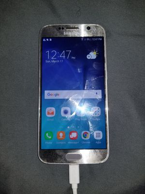 Samsung galaxy s6 works Bad battery for Sale in Duluth, GA