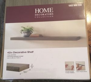 Home decorators collection. dimensions: 42x2x10.2 Shelf -new in box for Sale in Richmond, VA