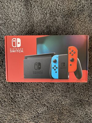 Brand New Nintendo Switch V2 with Red and Blue Joy-Con for Sale in Los Angeles, CA
