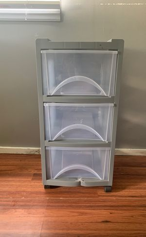 Plastic rolling drawer for Sale in Kissimmee, FL
