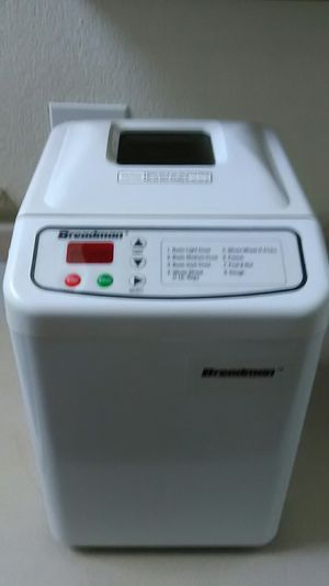 Breadman bread maker for Sale in Highlands Ranch, CO
