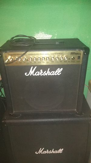 Marshall mg 50 dfx amp for Sale in Aberdeen, WA
