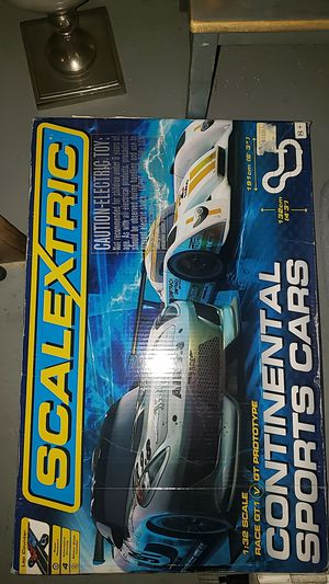 Scalextric spots car track and extra accessories for Sale in Anaheim, CA