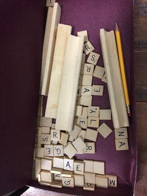 Vintage Scrabble Board Game Selchow and Righter Company - Complete for Sale in Tempe, AZ