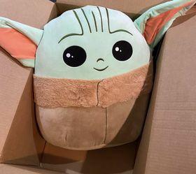 "Star Wars The Mandalorian The Child Baby YODA 20"" inch Squishmallows Plush Baby Yoda for Sale in La Puente,  CA"