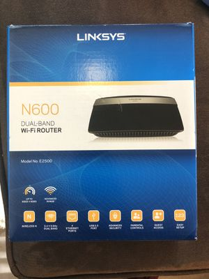 Linksys N600 WiFi Router for Sale in Richmond, VA