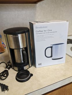 Brookstone coffee maker for Sale in Glenwood,  OR
