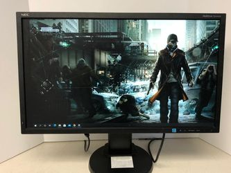 "NEC Display MultiSync E243WMi-BK Black 24"" Widescreen AH-IPS Panel, LED Backlight LCD Monitor 5ms 250cd/m2 for Sale in Costa Mesa,  CA"