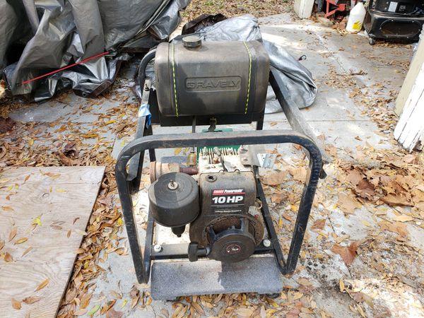 Gravely 10hp Generator. Runs. Needs work.